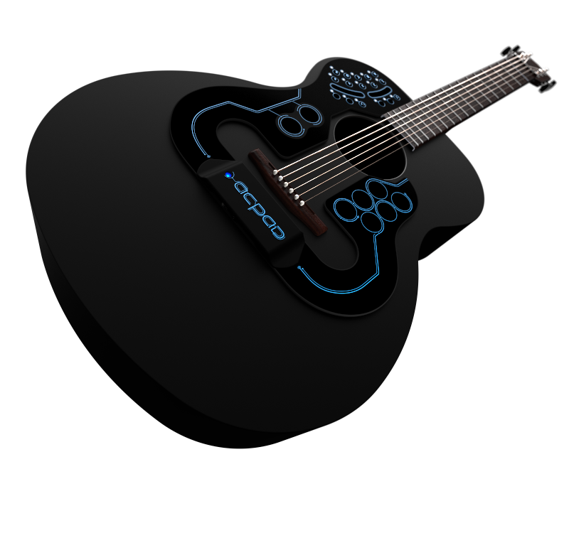 ACPAD - World's First MIDI controller for an acoustic guitar